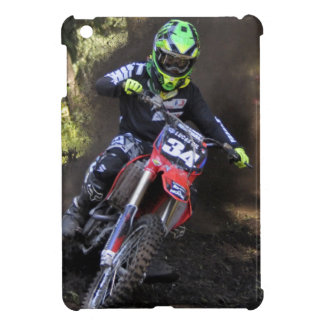 Motocross rider tearing up the track iPad mini cover