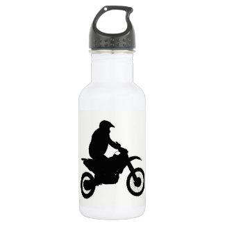 Motocross Silhouette 532 Ml Water Bottle
