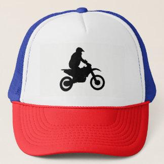 Motocross Silhouette Trucker Hat