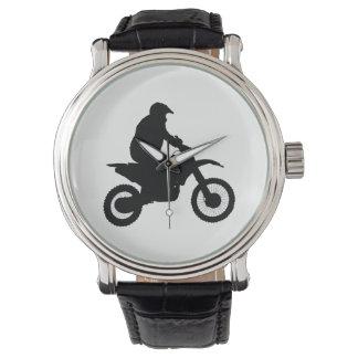 Motocross Silhouette Watch