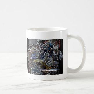 motocross start, I Need A Fix, Coffee Mug