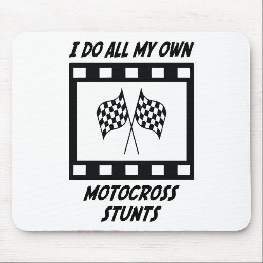 Motocross Stunts Mouse Pad