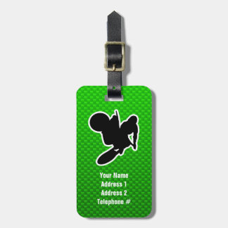 Motocross Whip Luggage Tag