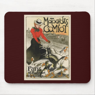 Motocycles Comiot Mouse Pad