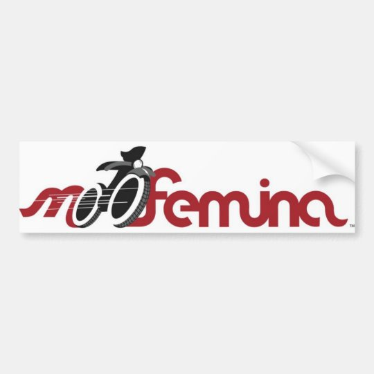 MotoFemina Bumper Sticker