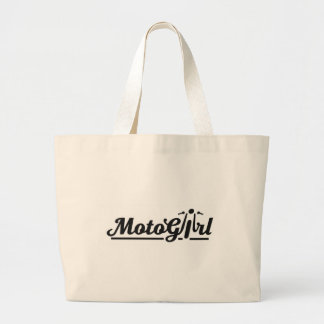 MotoGirl Large Tote Bag