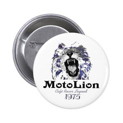 MotoLion Cafe Racer Legend Button