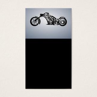 motor-bike-531004 TRIBAL TATTOO MOTORBIKE TRANSPOR Business Card