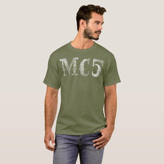 Motor City 5 Shirt (White Big)