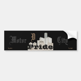 Motor City Pride (sticker) Bumper Sticker