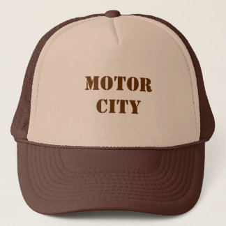 Motor City Trucker Hat