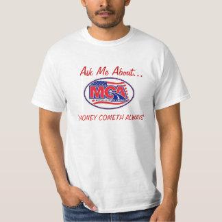 MOTOR CLUB AMERICA - MCA  40for80.com T-Shirt