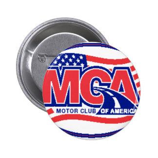 Motor Club Of America 2 Inch Round Button