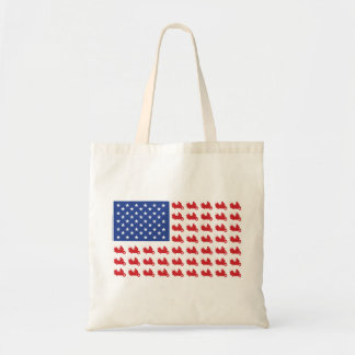 Motor-Cycle-Flag-WING Tote Bag