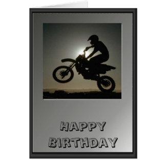 Motor cycle tricks card