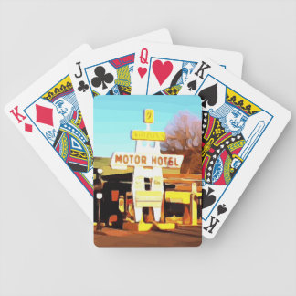 Motor Hotel in Williams Bicycle Playing Cards