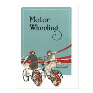 Motor Wheeling Postcard