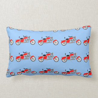 Motorbike all over print Pillow