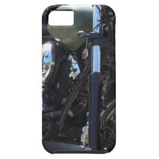 Motorbike in the parking lot . Outdoors lifestyle Case For The iPhone 5