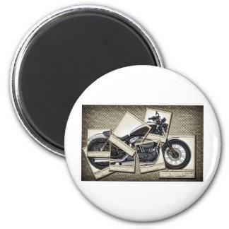 Motorbike Magnet