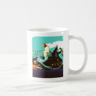 Motorbike Pixie Coffee Mug