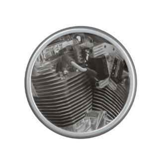 motorbike v twin engine bumpster speaker
