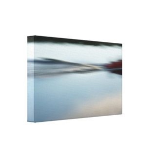 Motorboat abstractly II Canvas Print