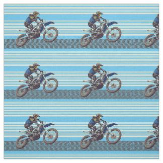 Motorcross Rider Fabric
