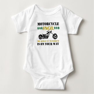 Motorcycle Angel Baby Bodysuit