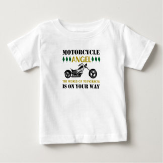 Motorcycle Angel Baby T-Shirt