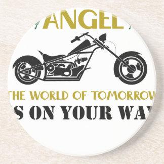 Motorcycle Angel Coasters