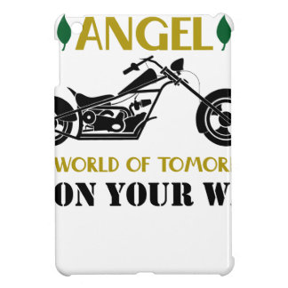 Motorcycle Angel Cover For The iPad Mini