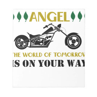 Motorcycle Angel Notepad