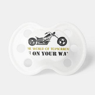 Motorcycle Angel Pacifier