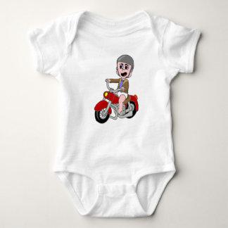 Motorcycle Baby Baby Bodysuit