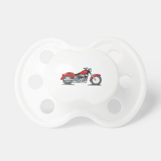 Motorcycle Baby Pacifiers