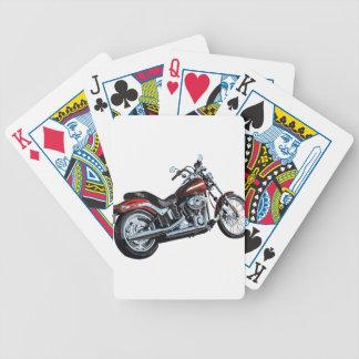Motorcycle Bike Biker Bicycle Playing Cards