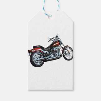 Motorcycle Bike Biker Gift Tags