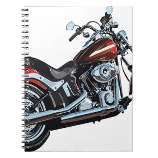 Motorcycle Bike Biker Notebook