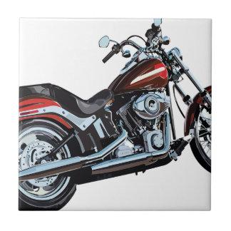 Motorcycle Bike Biker Tile