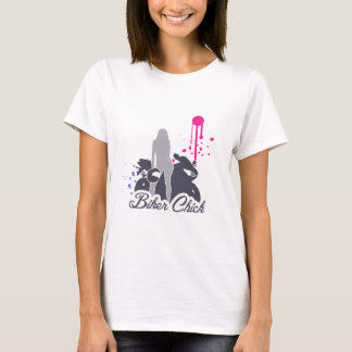 Motorcycle Biker Chick T-Shirt