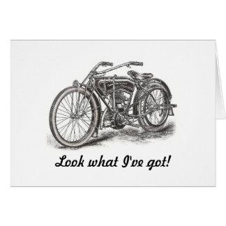 Motorcycle Birthday Card