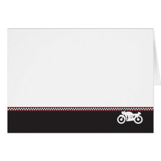 Motorcycle Cafe Racer Photo Greeting Card