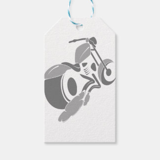 Motorcycle Chopper Gift Tags
