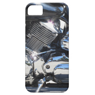 Motorcycle chromed engine closeup detail Side view Case For The iPhone 5