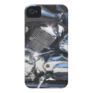 Motorcycle chromed engine closeup detail Side view Case-Mate iPhone 4 Cases