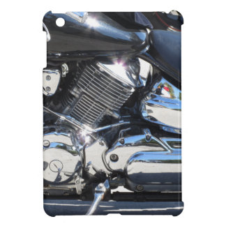 Motorcycle chromed engine closeup detail Side view iPad Mini Cover