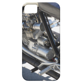 Motorcycle chromed engine closeup detail Side view iPhone 5 Case