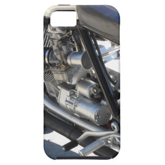 Motorcycle chromed engine closeup detail Side view iPhone 5 Cover