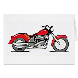 Motorcycle Design Card